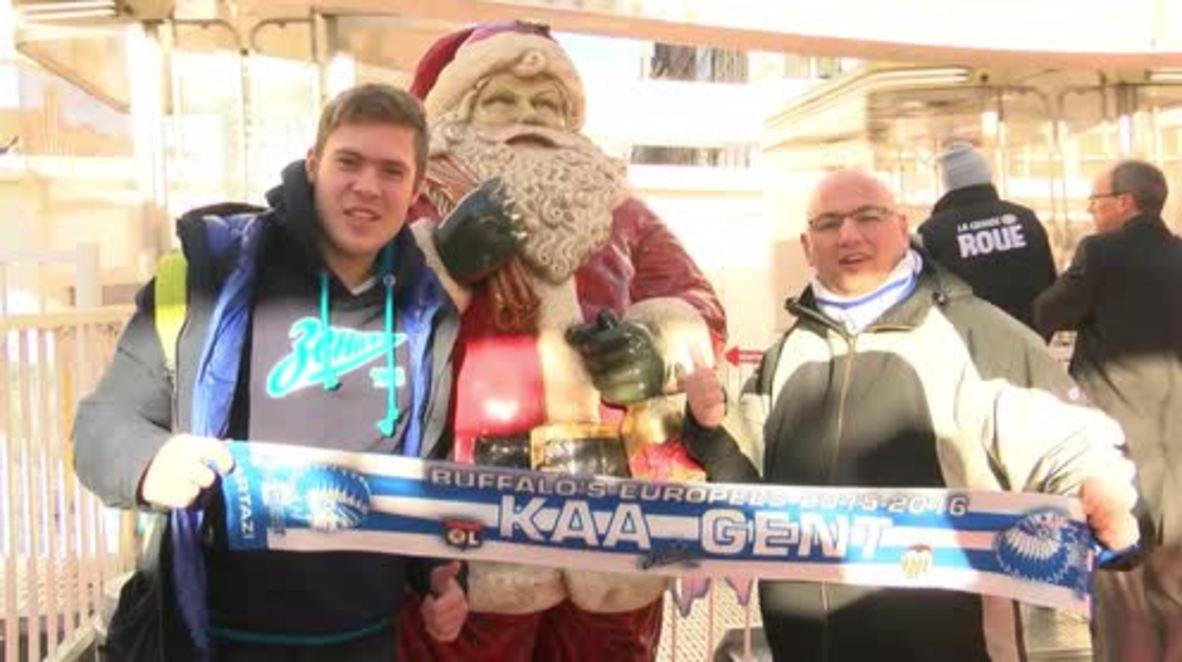 Belgium: Zenit fans enjoy Ghent after travel ban lifted ahead of Champions League match