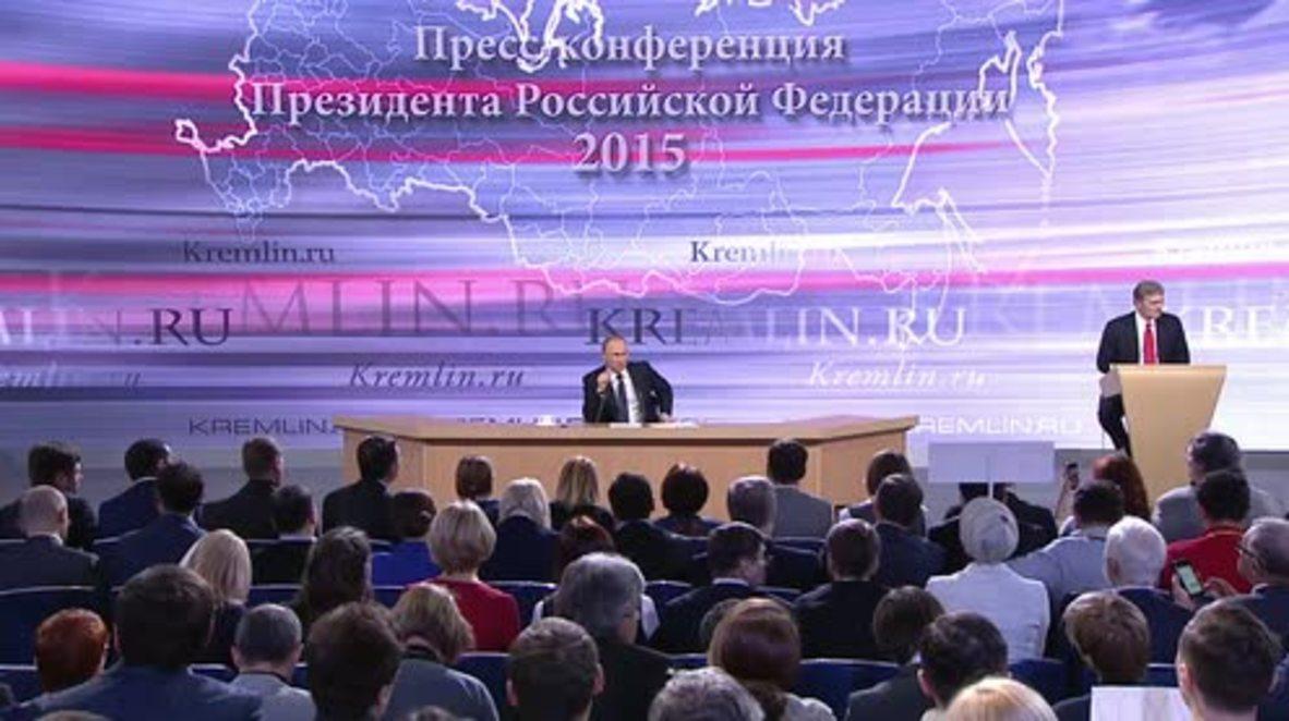 Russia: We have passed the peak of the economic crisis - Putin
