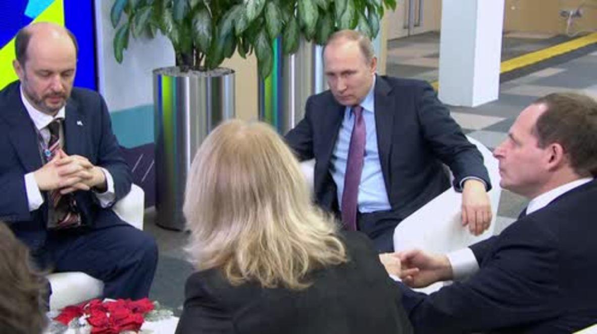 Russia: Putin speaks about negotiations on EU-Ukraine association agreement