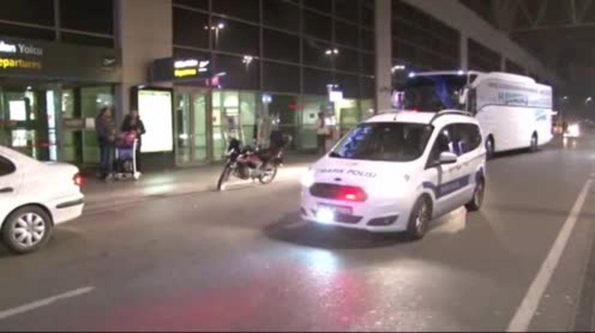 Turkey: One dead, one injured in blast at Istanbul's Sabiha Gokcen airport