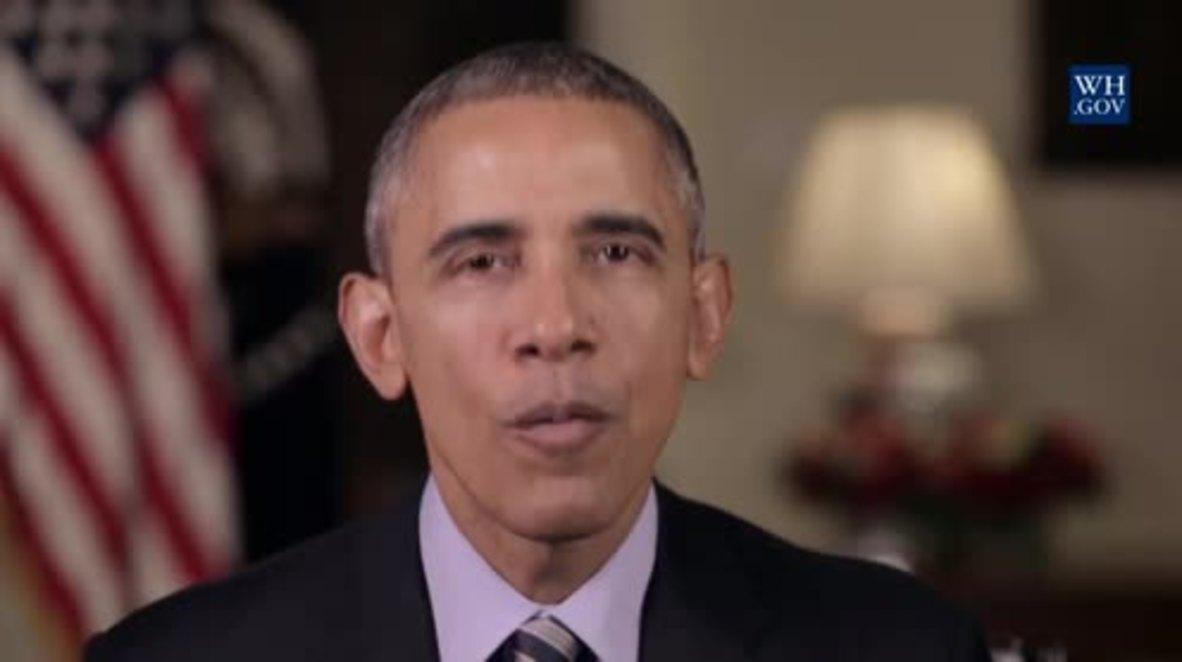 USA: Obama's new year resolution to tackle gun violence