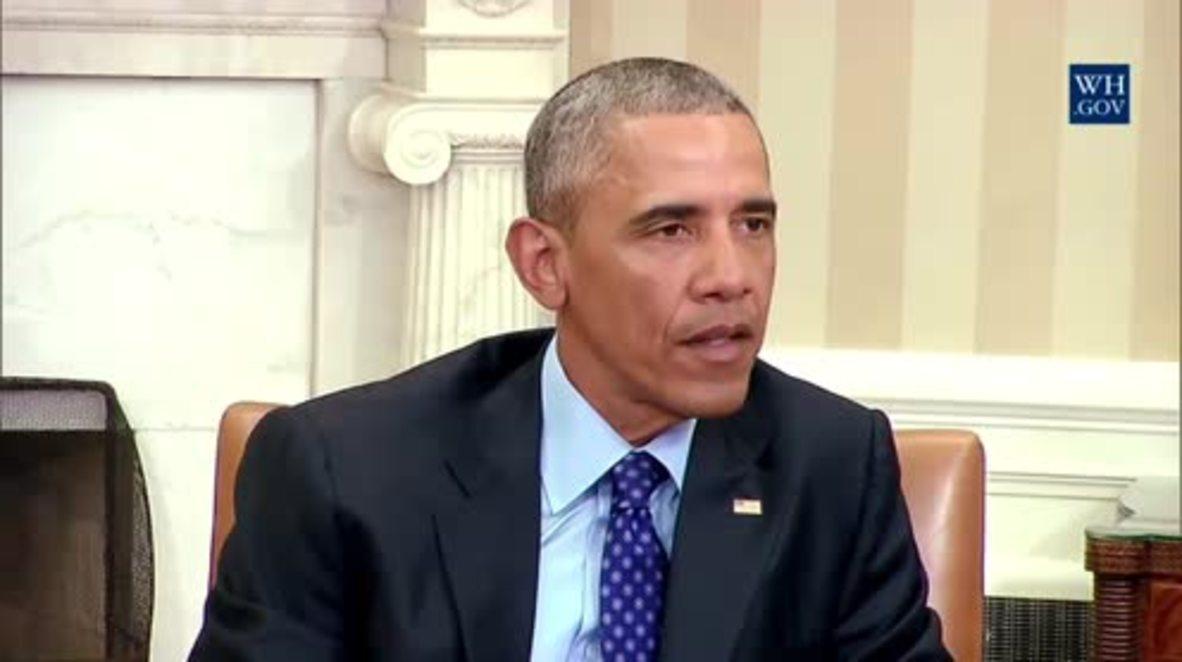 USA: Obama to take executive action to tighten gun control