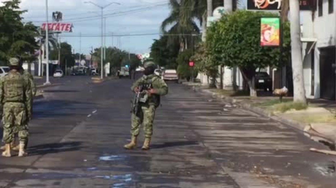 Mexico: Navy secure cartel kingpin 'El Chapo' Guzman's hideout