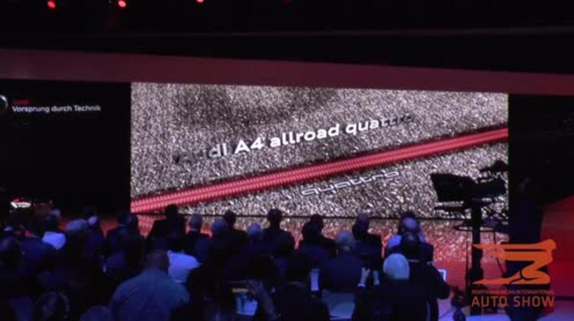 USA: Audi presents H-Tron and A4 Allroad Quattro concept cars