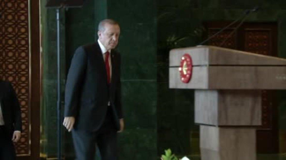Turkey: Erdogan blames Istanbul blast on suicide bomber of 'Syrian origin'