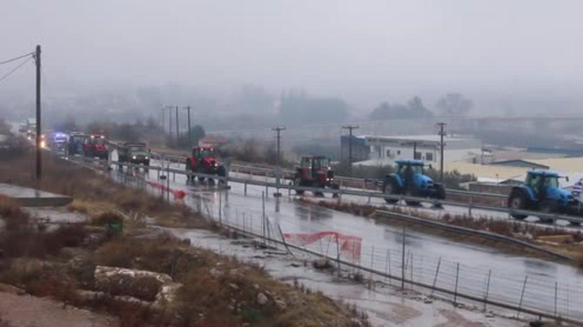 Greece: Protesting farmers threaten to block Greece-Bulgarian border