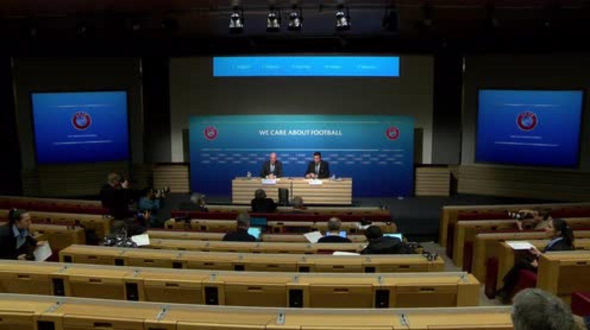 Switzerland: FIFA presidential candidate Gianni Infantino says 'spasibo' to Russia