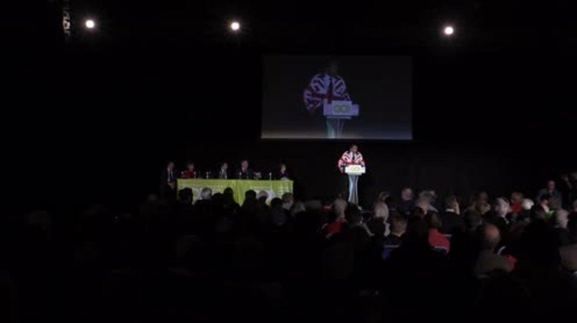 UK: Farage launches cross-party Brexit platform