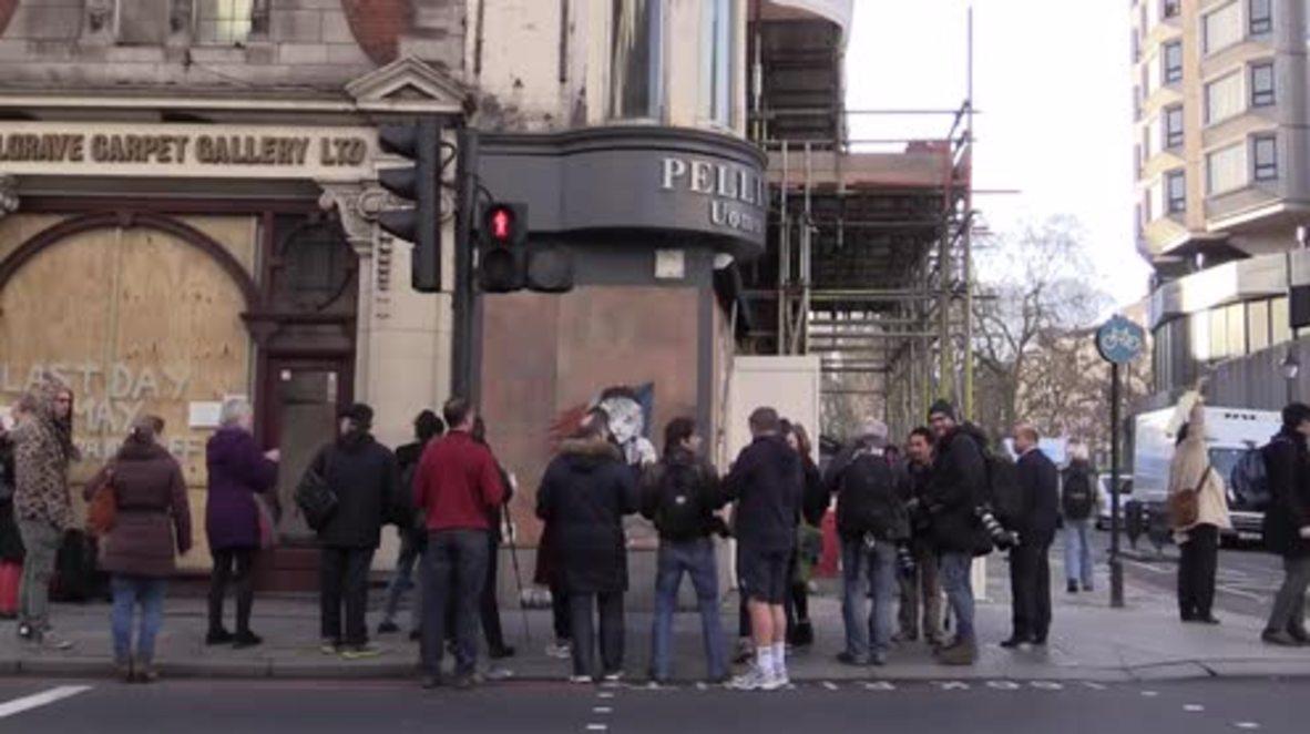 UK: London police order Banksy's 'Les Miserables' artwork to be covered