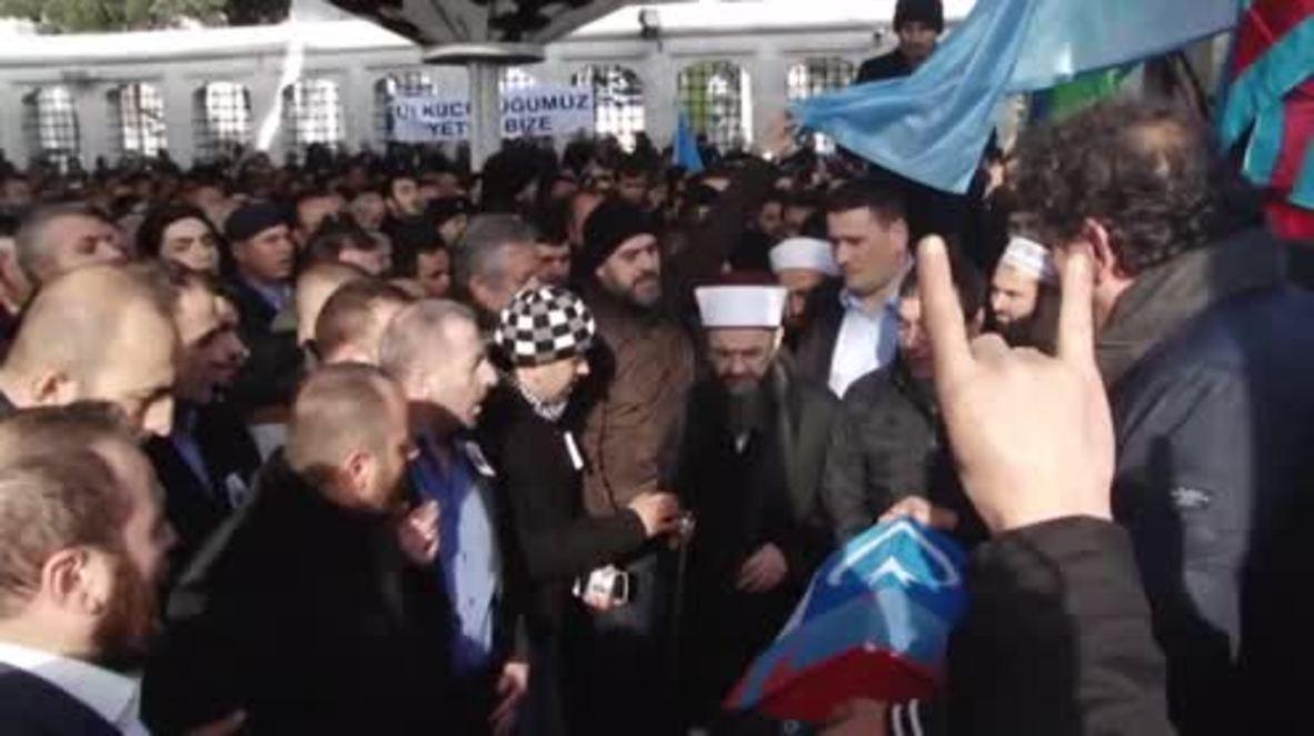 Turkey: Syrian Turkmen commander who allegedly killed Russian pilot appears in Istanbul