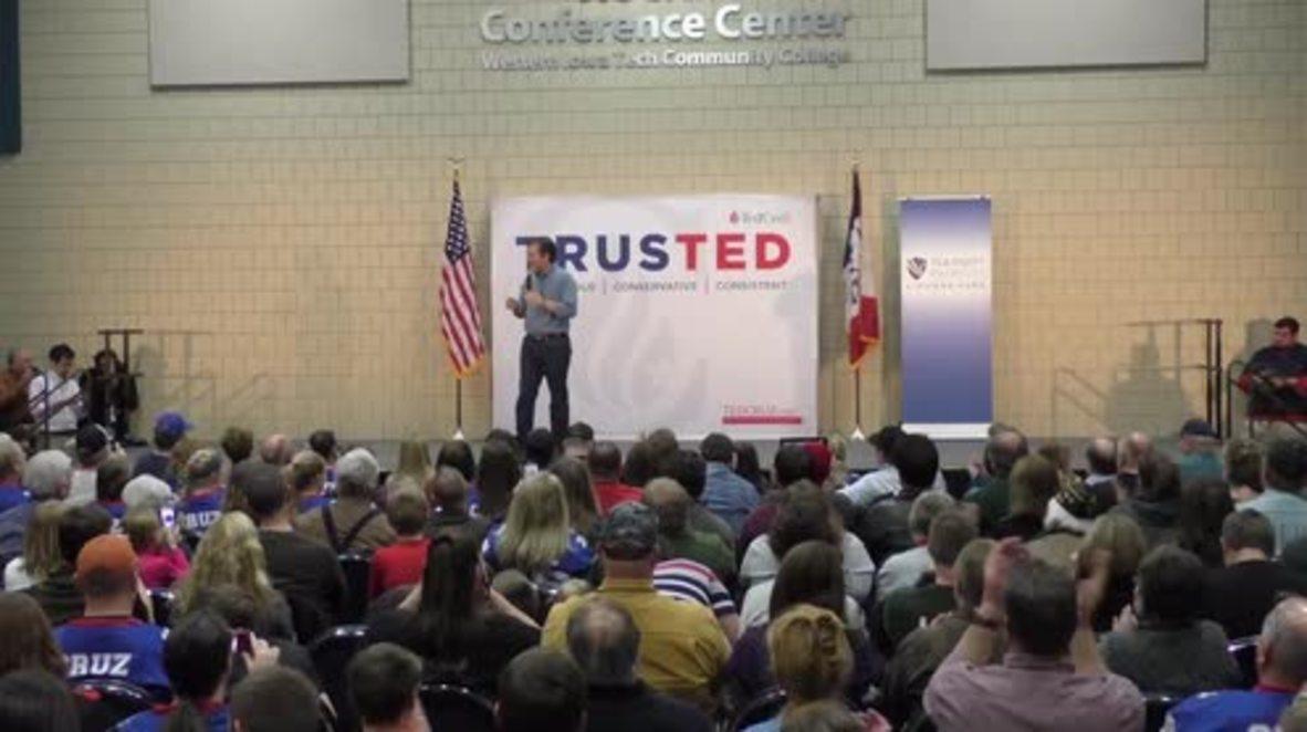 USA: Ted Cruz slams 'gentle soul' Trump for skipping GOP debate