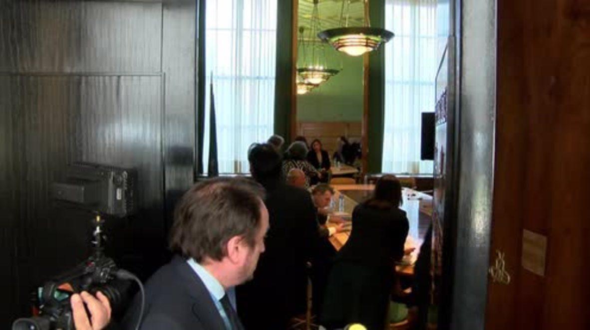Switzerland: UN's de Mistura meets 'Moscow group' of Syrian opposition