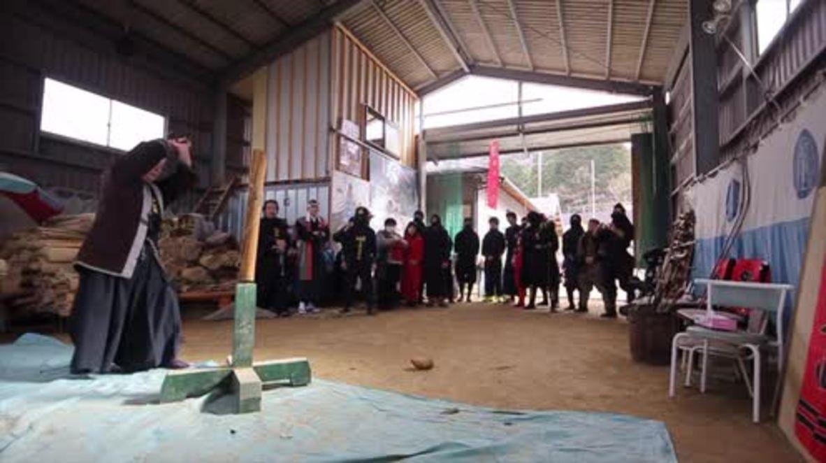 Japan: Learn the secret skills of the Ninja at the Yagu Ninjitsu Academy dojo