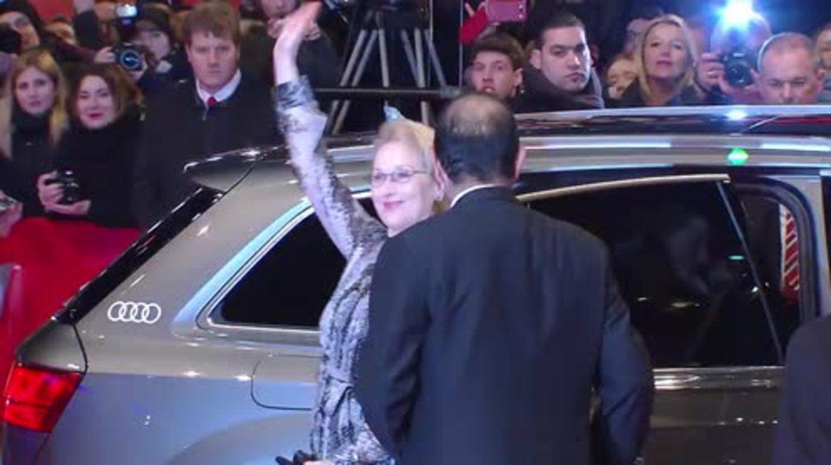 Germany: Meryl Streep, George Clooney and more hit Berlinale red carpet