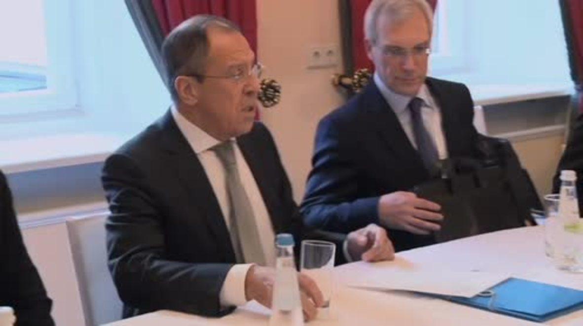 Germany: Lavrov and Dutch FM Koenders meet on sidelines of MSC 2016