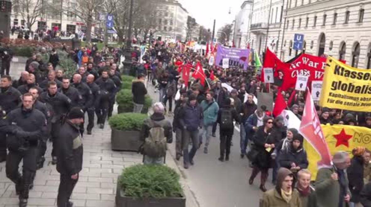 Germany: Pro-Russia, anti-NATO demo hits Munich amid MSC 2016