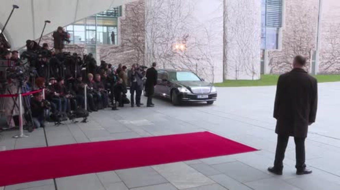 Germany: Merkel meets with Israeli PM Netanyahu in Berlin