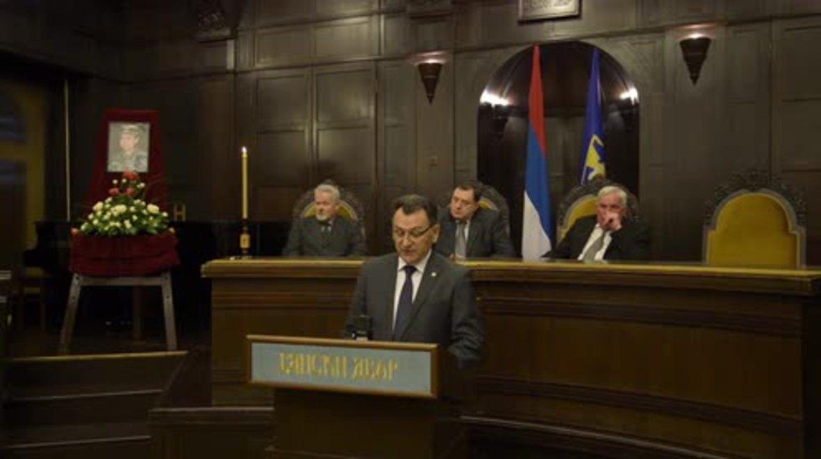 Bosnia and Herzegovina: Commemoration held for deceased Hague inmate General Tolimir