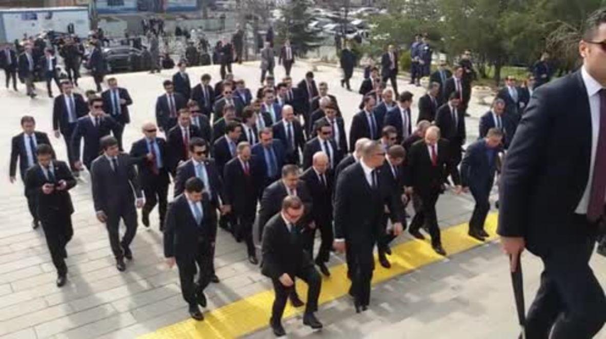 Turkey: Funeral held for Ankara blast victims