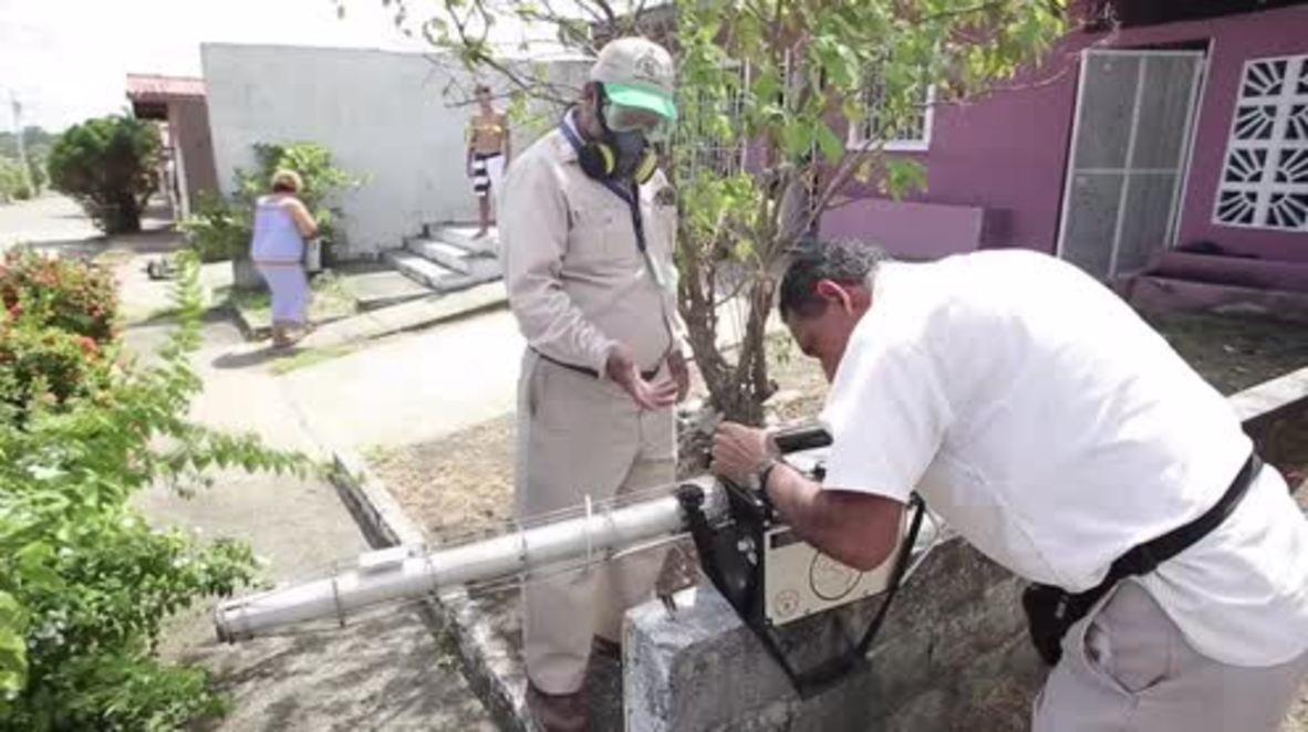Panama: Latest Zika infection sees virus spread to capital