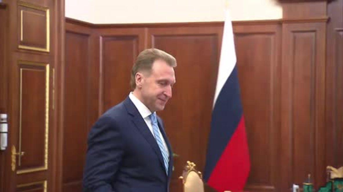 Russia: Putin chairs meeting on socio-economic development for 2016