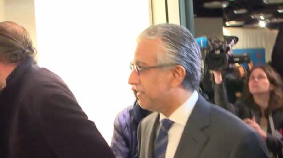 Switzerland: FIFA presidential hopefuls arrive in Zurich ahead of vote