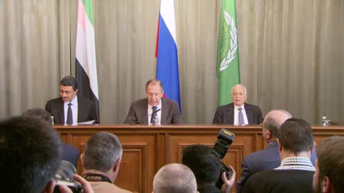Russia: Emirati FM claims Iran supporting 'terrorist groups' in Syria