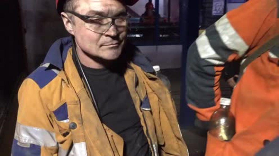 Russia: EMERCOM continues Vorkuta mine rescue op despite second blast threat