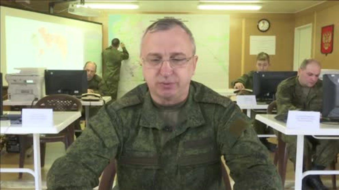 Syria: Russia reports nine ceasefire violations in last 24 hours - Kuralenko