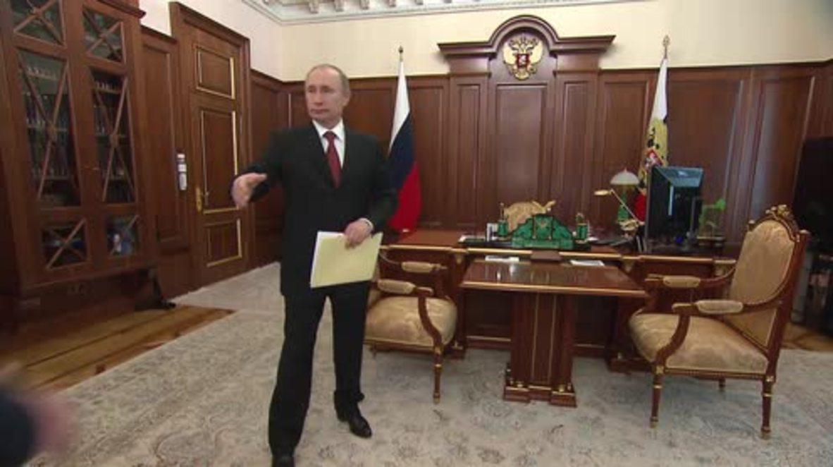 Russia: Putin endorses North Ossetia-Alania PM Bitarov for head of republic