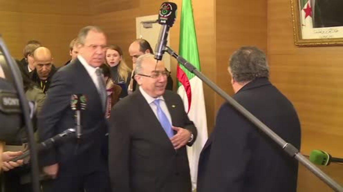 Algeria: Lavrov talks Syrian ceasefire with Algerian FM Lamamra
