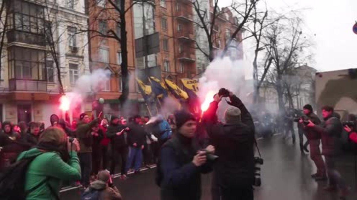 Ukraine: Azov Battalion demand release of Crimean chief Stanislav Krasnov