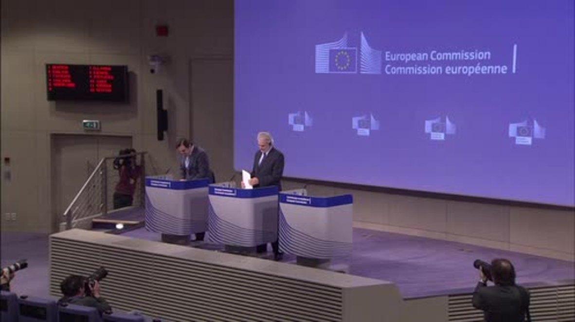 Belgium: EU declares €700 million aid initiative to deal with refugee crisis