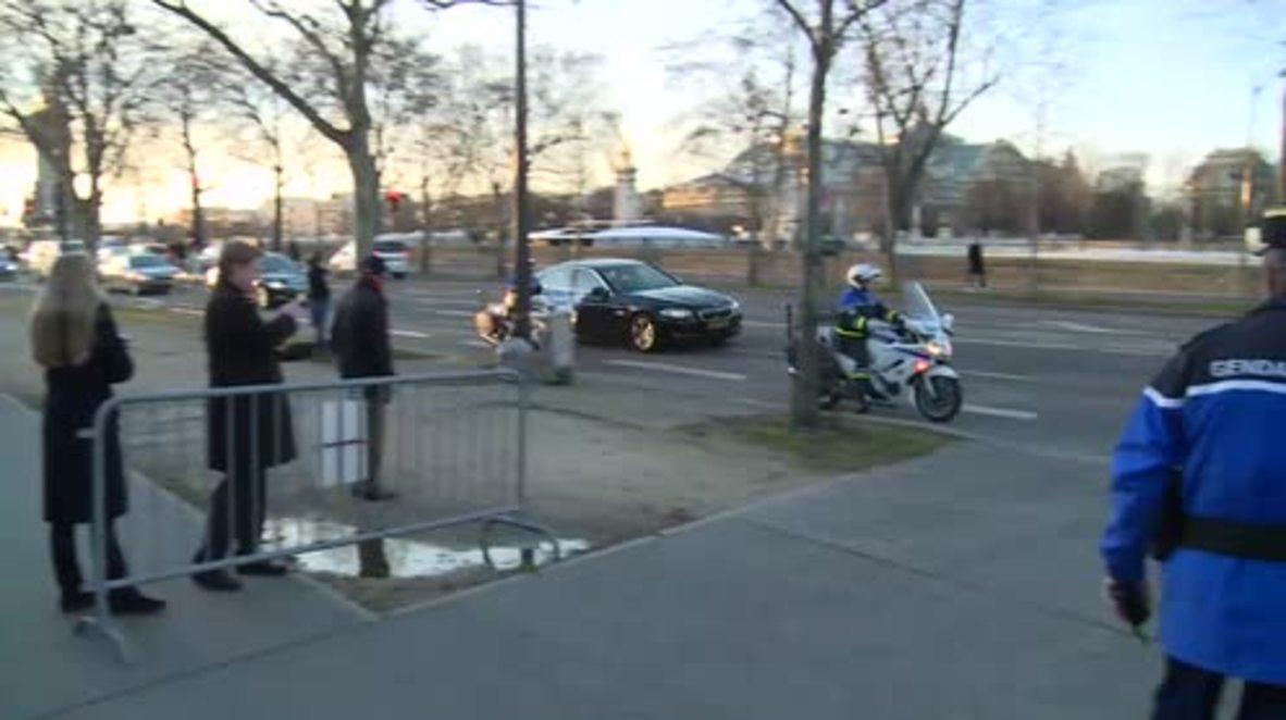 France: Lavrov arrives for latest Ukraine talks in Paris