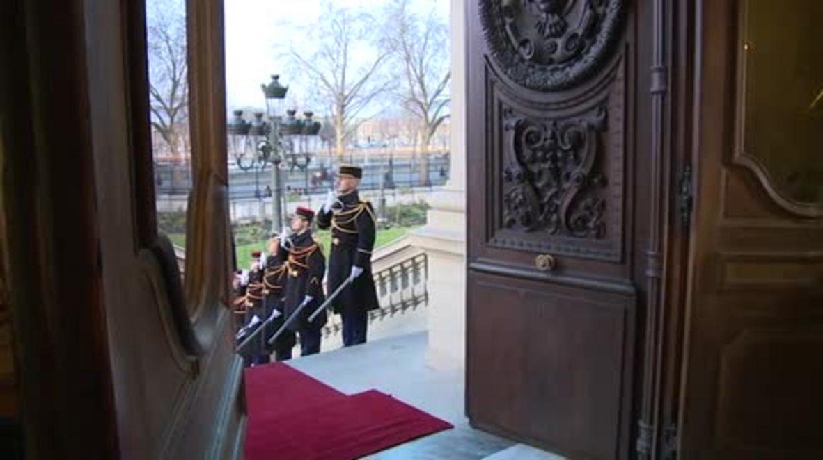 France: Steinmeier and Ukraine's Klimkin arrive for 'Normandy Four' peace talks
