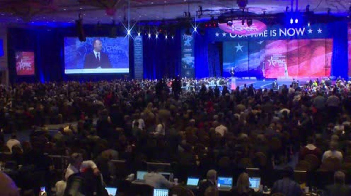 USA: Ben Carson officially suspends presidential campaign at CPAC