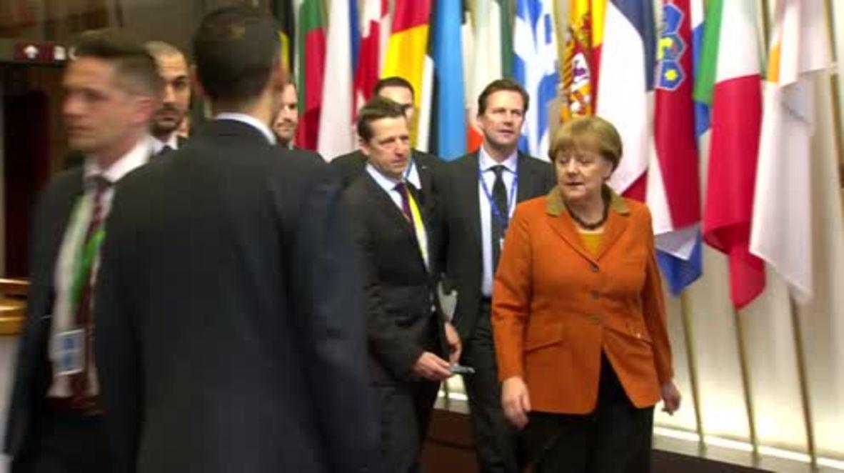 Belgium: Cameron says UK can 'opt out' of European asylum agreement
