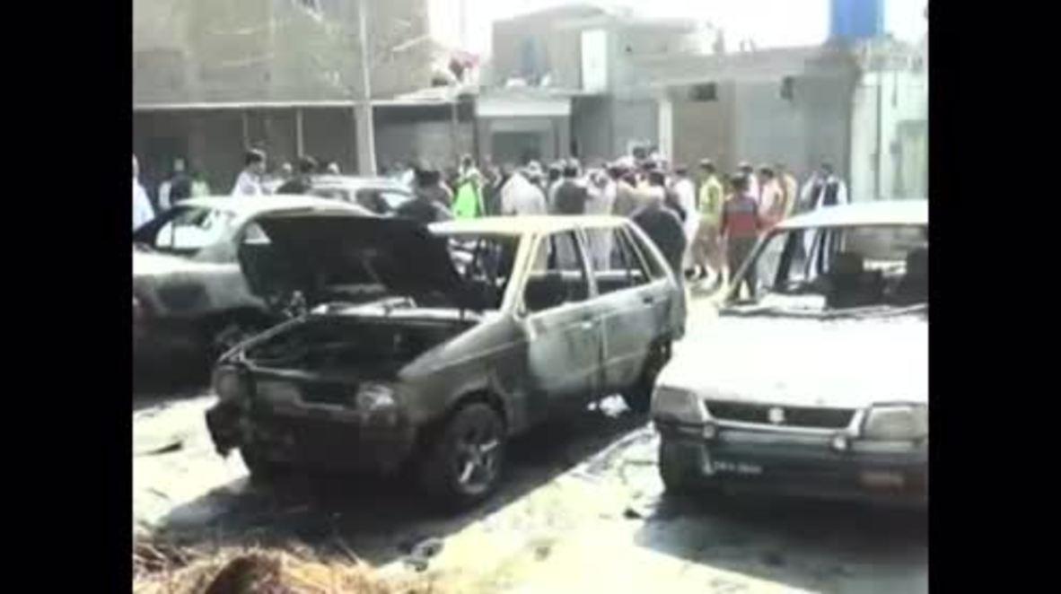 Pakistan: At least 15 killed in suicide blast avenging hanged Mumtaz Qadri