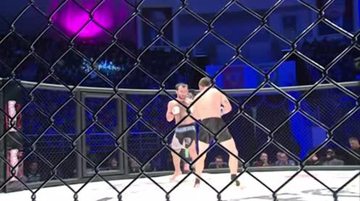 Russia: MMA fighter Khasbulaev 'honoured' to win on Chechen soil