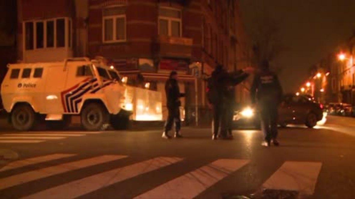 Belgium: Forensics teams arrive at site of Paris suspect's arrest in Brussels