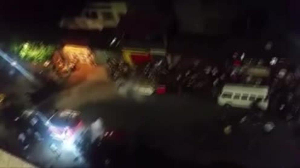 Brazil: Pro and anti-government protesters clash in Sao Paulo