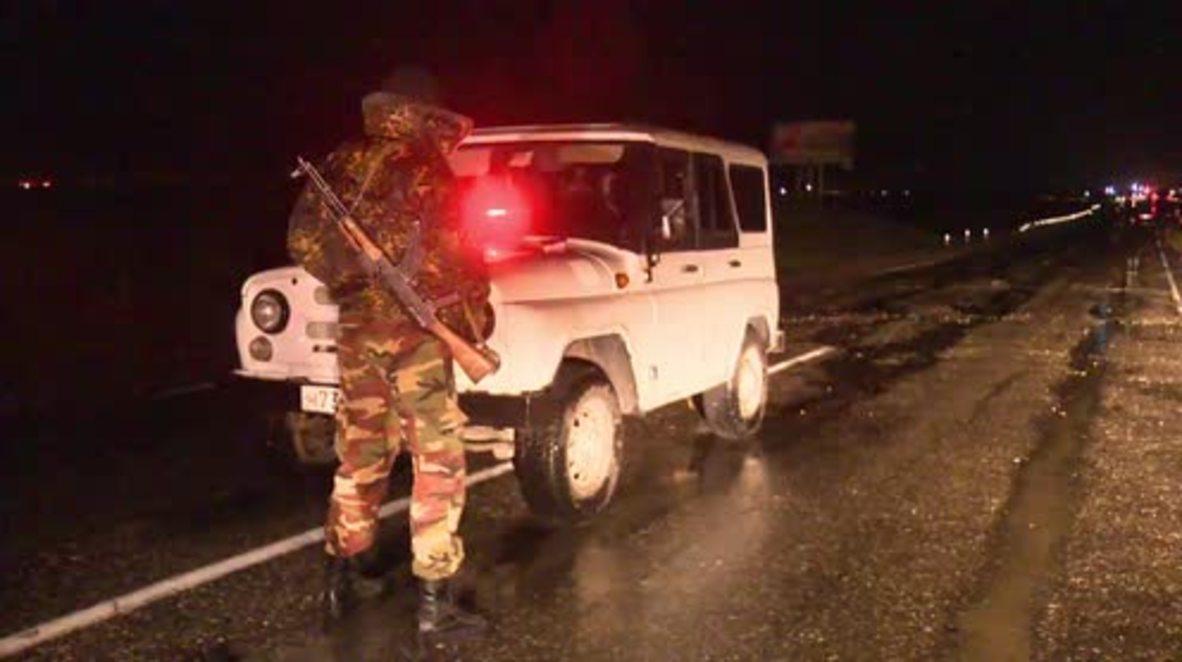 Russia: Dagestan bomb blast on police cortege kills 1, injures 2