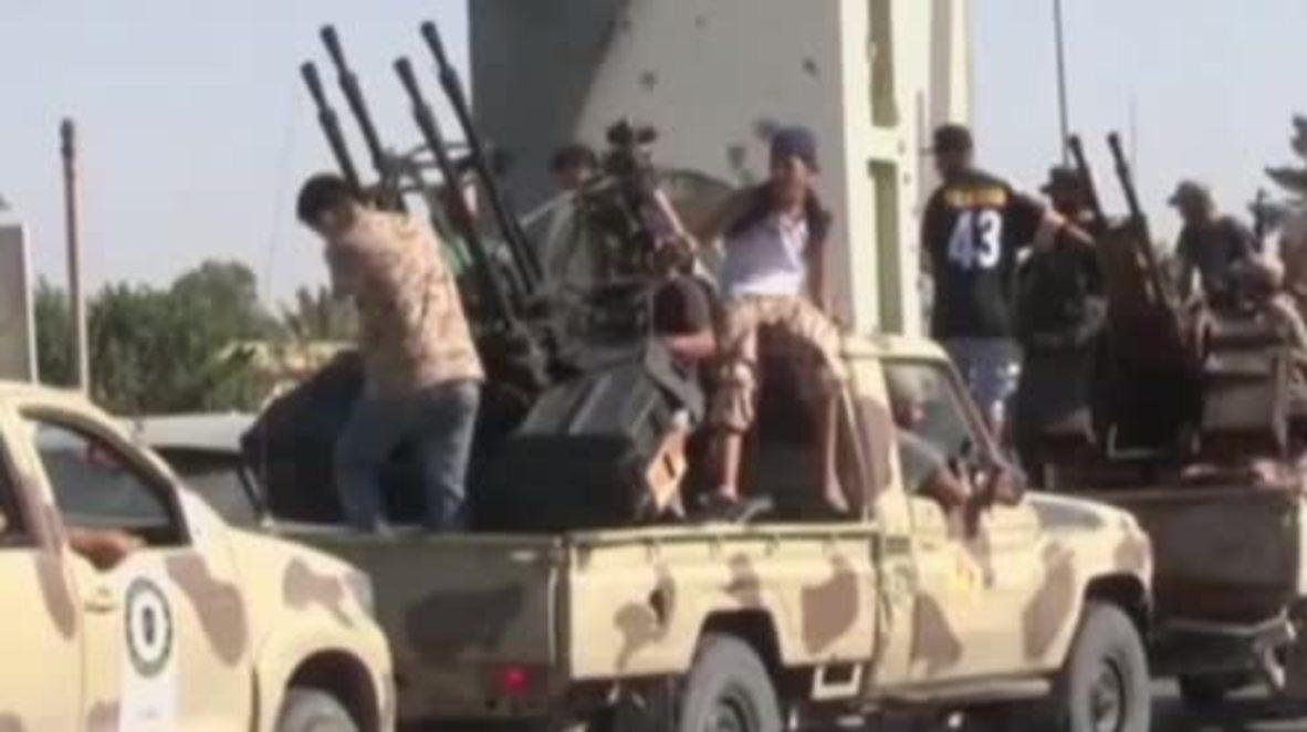 Libya: Fighting in Tripoli ahead of UN-backed unity govt. leaders' arrival