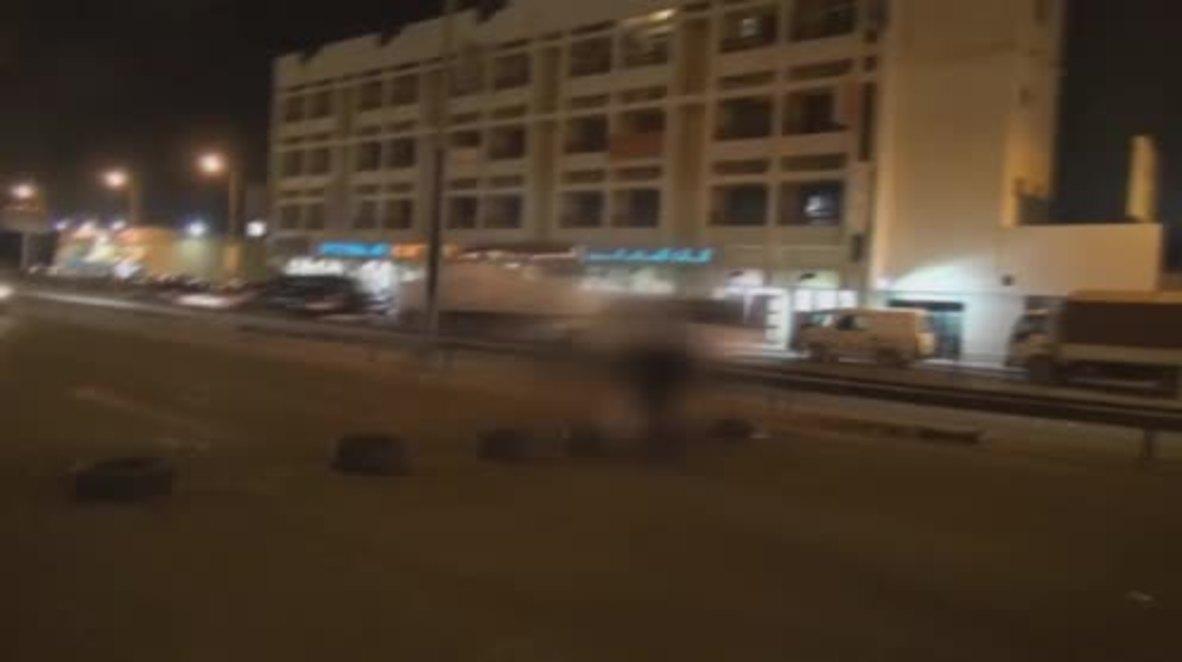 Bahrain: Tires burn as protesters rail at F1 Grand Prix