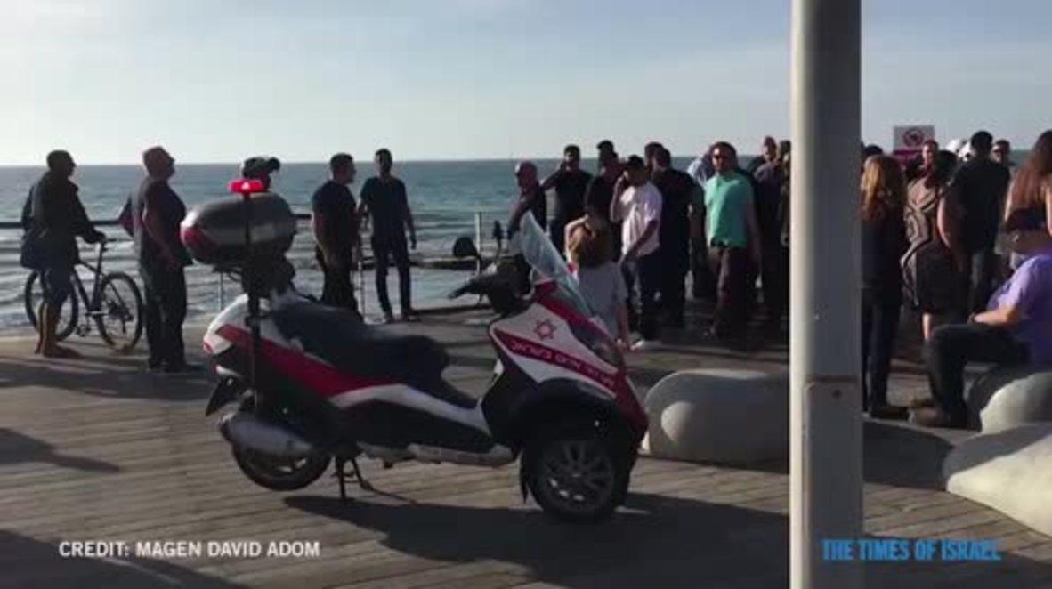 Israel: Plane makes emergency landing in sea off Tel Aviv beach