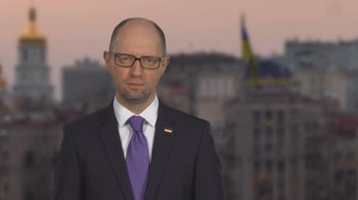 Ukraine: Prime Minister Arseniy Yatsenyuk resigns