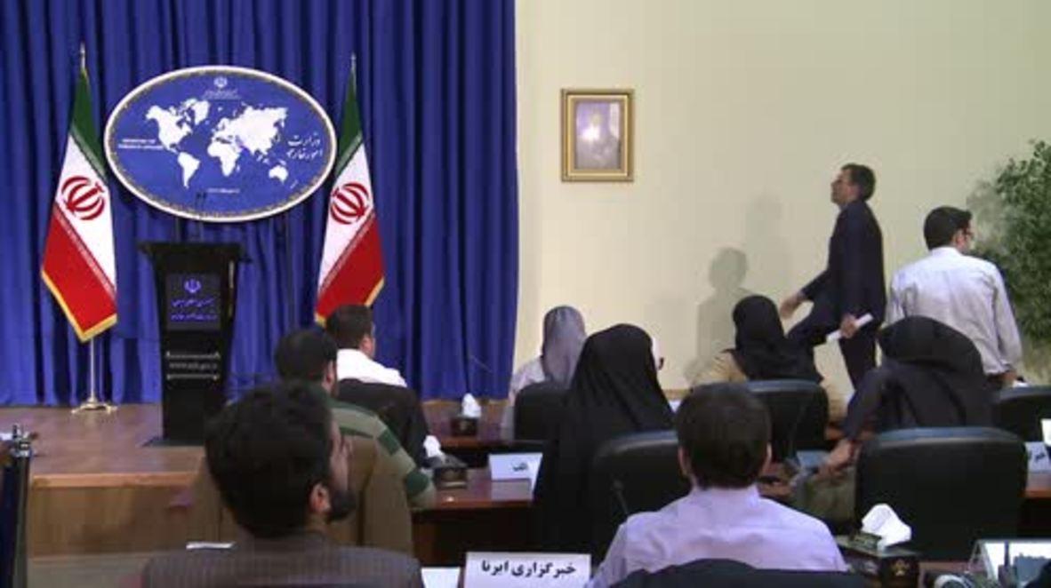 Iran: S-300 missile system has begun to arrive in Iran, FM spokesperson