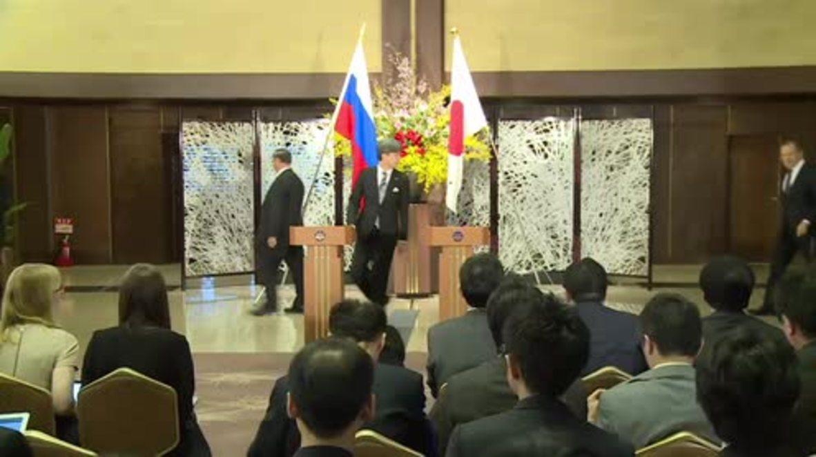 Japan: Lavrov offers condolences to Japan after Kyushu Island earthquake