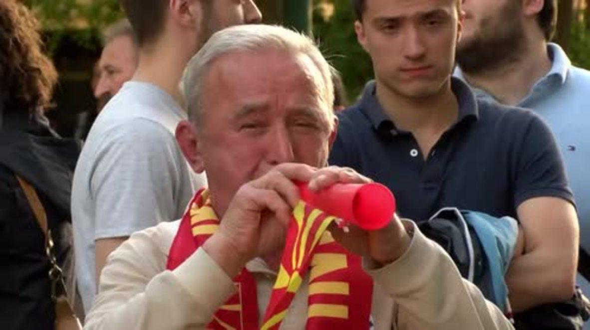 Macedonia: Huge protest march demands Ivanov's resignation