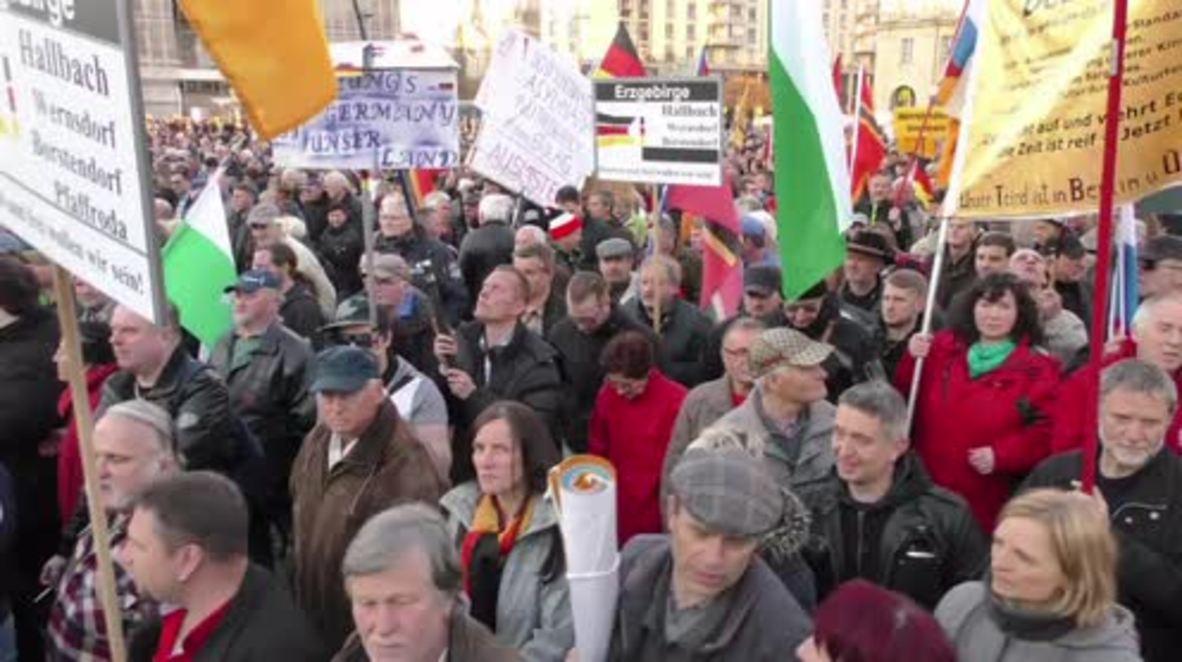 Germany: Pegida's Lutz Bachmann talks Erdogan poem ahead of hate speech trial